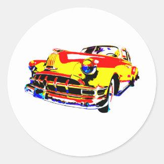 One Wild Pontiac Round Sticker