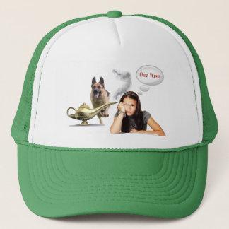 One Wish - German Shepherd Trucker Hat