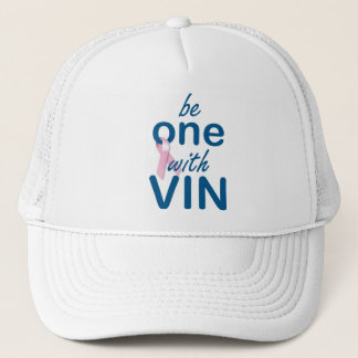 One With Vin with Ribbon Trucker Hat