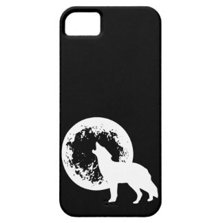One Wolf Moon iPhone 5 Cases