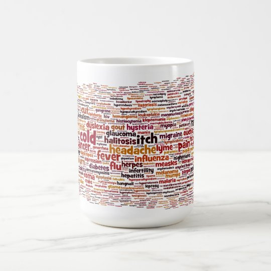 One-word Medical Diagnosis Mug