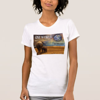 One World Destroyed by Chemtrails. Tee Shirts