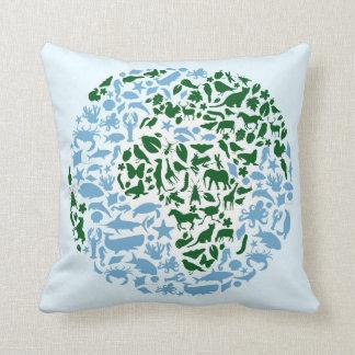 One World Eco Animals Cushion