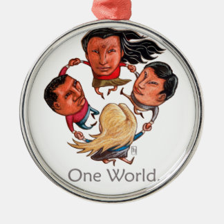 One World Global Community Ornament