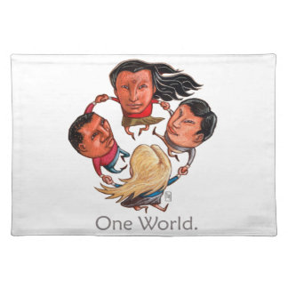 One World Global Community Placemats