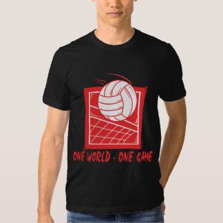 One World One Game Volleyball Dark T-Shirt
