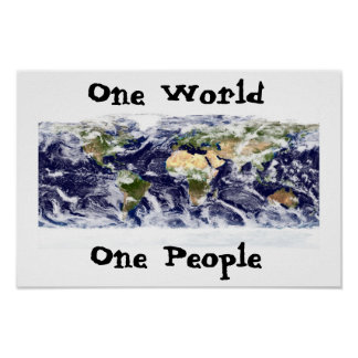 one world, one people posters