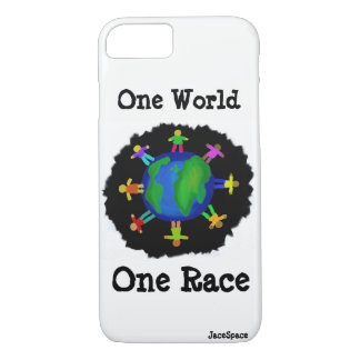 One World, One Race iPhone 7 Case