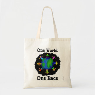 One World, One Race Tote Bag