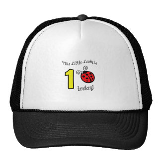 ONE YEAR OLD APP MESH HATS