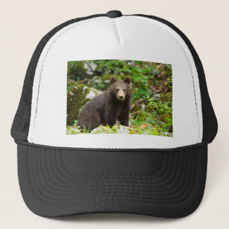 One year old Brown Bear in Slovenia Trucker Hat