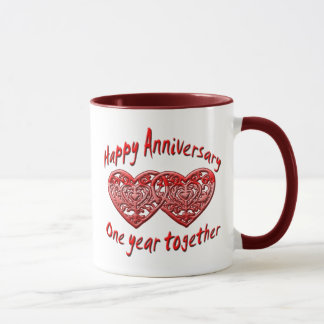 One Year Together Mug