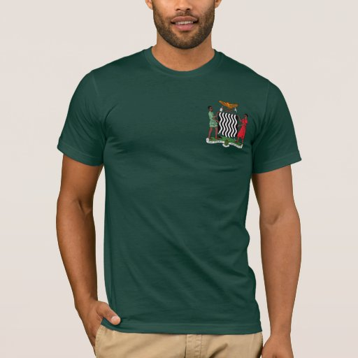 One Zambia One Nation Zambia Coat of Arms Hoodie