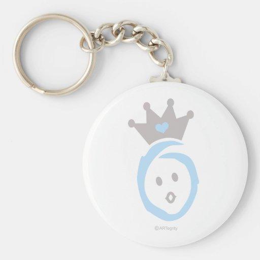 ONEderful BABY (blue) Keychain