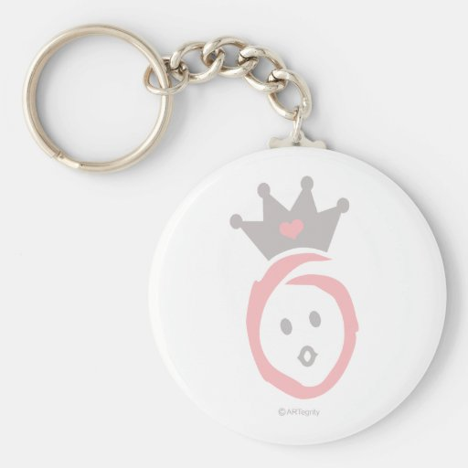 ONEderful BABY (pink) Keychains