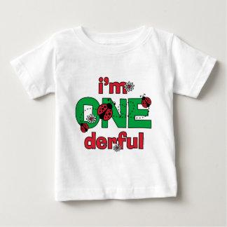 ONEderful Ladybug 1st Birthday Baby T-Shirt