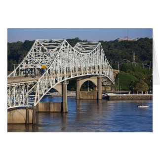 O'Neil Bridge on Tennessee River, Florence, Card