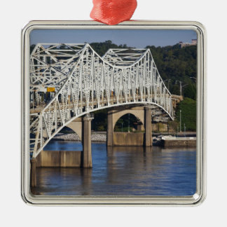 O'Neil Bridge on Tennessee River, Florence, Christmas Ornament