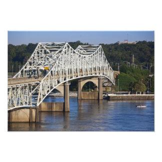 O'Neil Bridge on Tennessee River, Florence, Photo Print