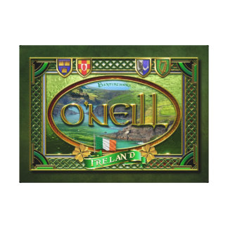 O'Neill Family Banner Canvas Print