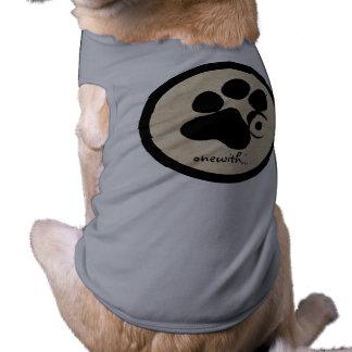 onewith...dogs sleeveless dog shirt