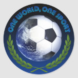 OneWorldButtons Classic Round Sticker