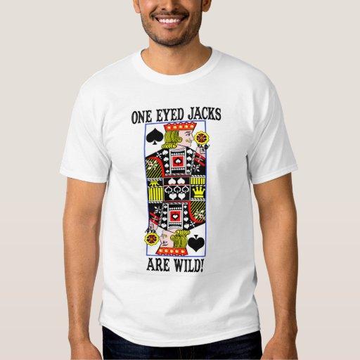 oneyedjacksarewild1 t shirt