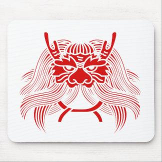 Oni Kabuto Kamon 兜(カブト) Mouse Pads