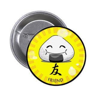 Onichibi - Friend 6 Cm Round Badge