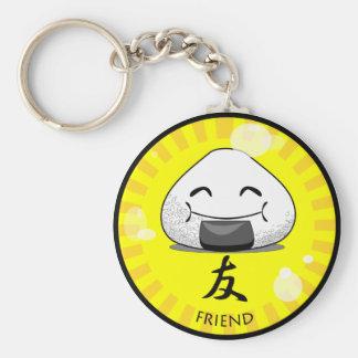 Onichibi - Friend Basic Round Button Key Ring