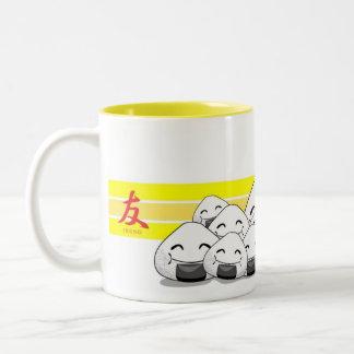 Onichibi - Friend Two-Tone Coffee Mug