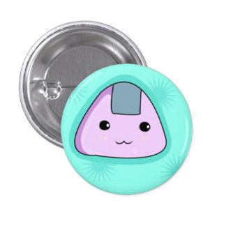 Onigiri - Blue Button