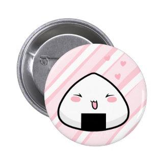 Onigiri Chan 6 Cm Round Badge