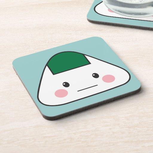 Onigiri Beverage Coaster