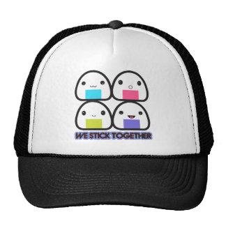 Onigiri Family Hats