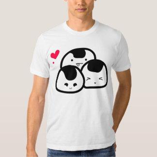onigiri friends t shirts