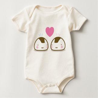onigiri love baby creeper