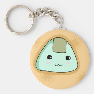 Onigiri - Orange Keychain