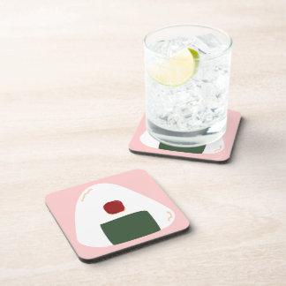 Onigiri ♥ Pink ver Coaster Set