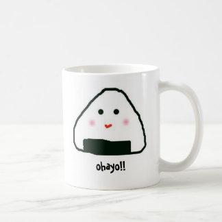 Onigiri-san, ohayo!! Mug