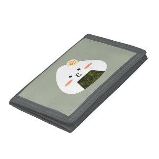 Onigiri Sushi Trifold Wallet
