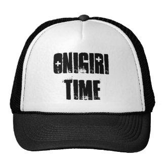 Onigiri Time Mesh Hats