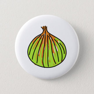 onion 6 cm round badge