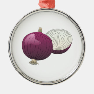 Onion Christmas Ornament