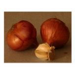 Onion & Garlic Postcards