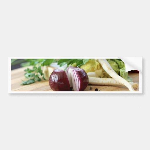 Onion Kitchen Bumper Sticker