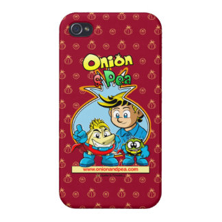 Onion & Pea iphone 4/4S network marries iPhone 4/4S Cases