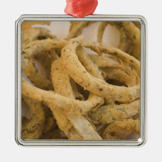 Onion rings christmas ornament