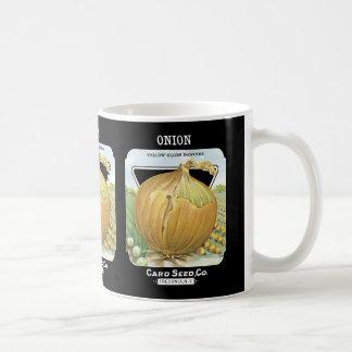Onion Seed Packet Label Coffee Mug