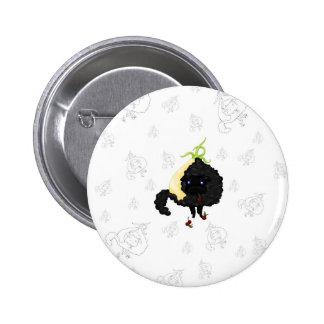 Onion Sheep 6 Cm Round Badge